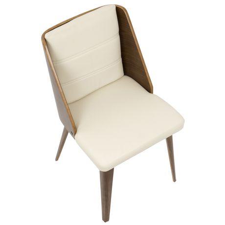 Galanti Mid Century Modern Dining Chair By Lumisource