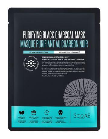 Soo'AE Purifying Black Charcoal Mask - image 1 of 1