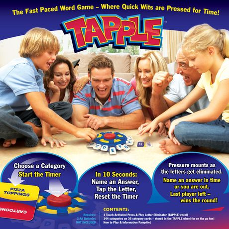 USAopoly Tapple – Fast Word Fun for The Whole Family! - image 2 of 5