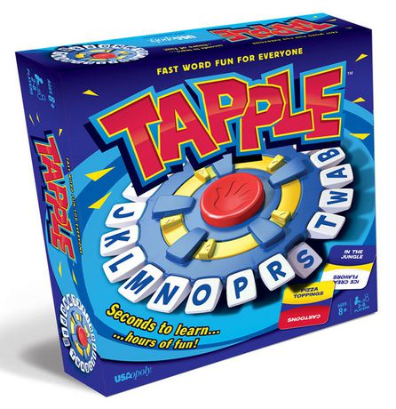 USAopoly Tapple – Fast Word Fun for The Whole Family! - image 1 of 5