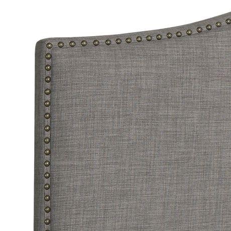 hometrends Linen Grey Headboard - image 2 of 3