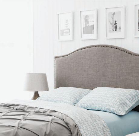 hometrends Linen Grey Headboard - image 3 of 3