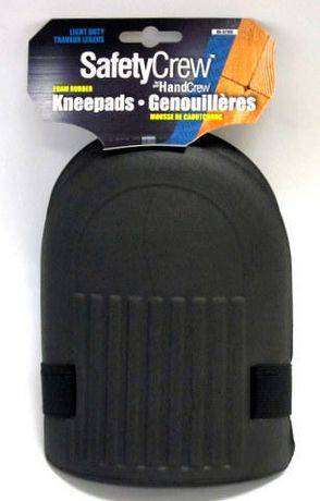VENDOR LABELING (CAN) Safetycrew Foam Rubber Kneepads - image 1 of 1