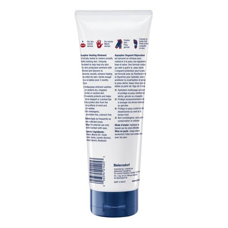 Eucerin Aquaphor Healing Ointment, Moisturizing Ointment for Use After Hand Sanitizer or Hand Soap - image 2 of 7