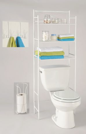 Exquisite 3 Piece Bathroom Organizer Set Walmart Canada