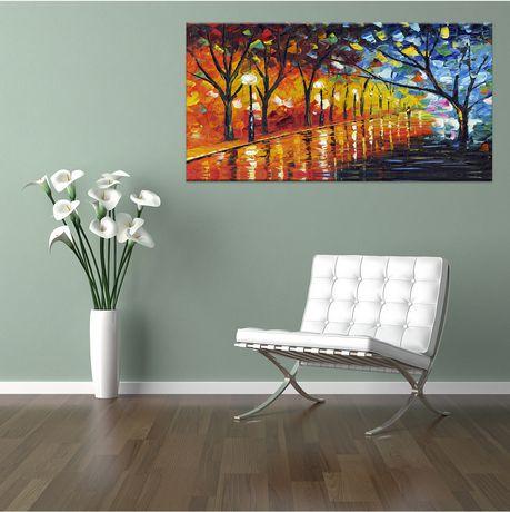 Design Art Stroll through Beauty Landscape Canvas Art - image 2 of 2