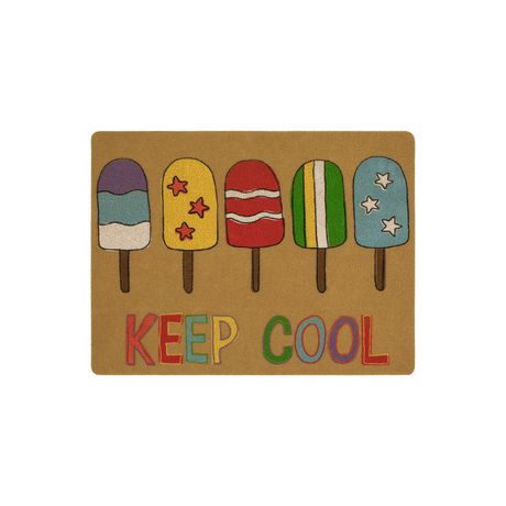 MAINSTAYS Keep Cool Polyester Doormat - image 1 of 1
