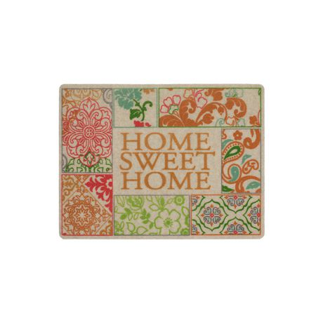 MAINSTAYS Home Sweet Home Polyester Doormat - image 1 of 1