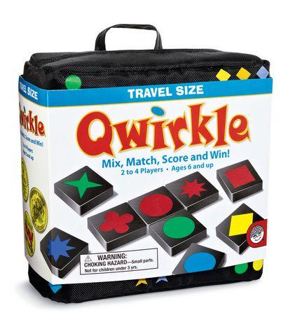 Mindware Travel Size Qwirkle GAME - image 1 of 1
