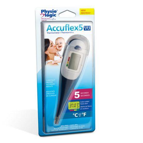 Thermomètre Accuflex5 VU, de Physio Logic - image 2 de 2