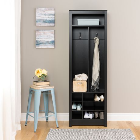 Prepac Space-Saving Entryway Organizer with Shoe Storage - image 1 of 6