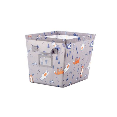 Bac de rangement Mainstays Kids à imprimé de des bois - image 1 de 1