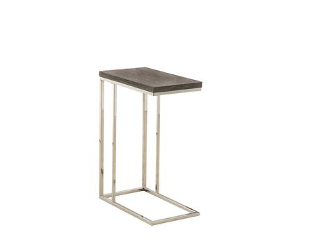 metal accent table. Monarch Specialties Dark Taupe/Chrome Metal Accent Table