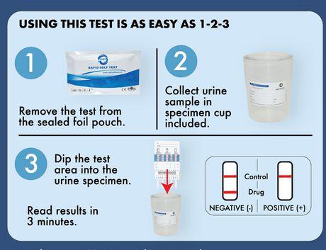 Home Drug Test Kits Home Drug Test Kit - 8 Drugs - image 3 of 3