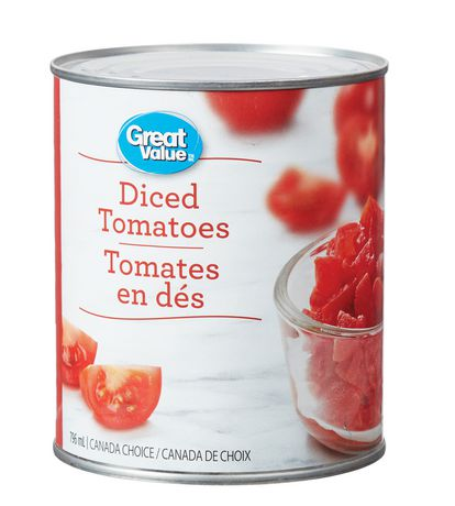 Great Value Diced Tomatoes - image 1 of 2