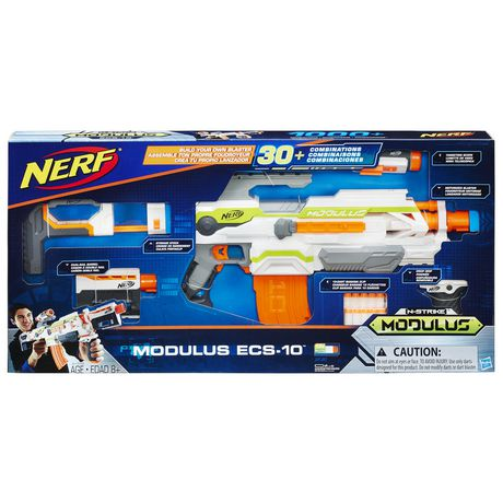 Nerf N-Strike - Modulus Ecs-10 Blaster Multi Aa