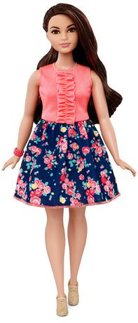 barbie fashionista curvy