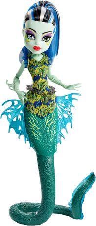 Poupée Frankie Stein Goules-poissons phosphorescentes La Grande Barrière des Frayeurs de Monster High - image 1 de 8