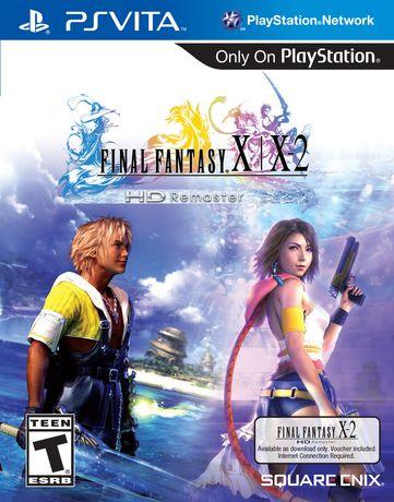 Final Fantasy X+X2 HD Remaster PS Vita