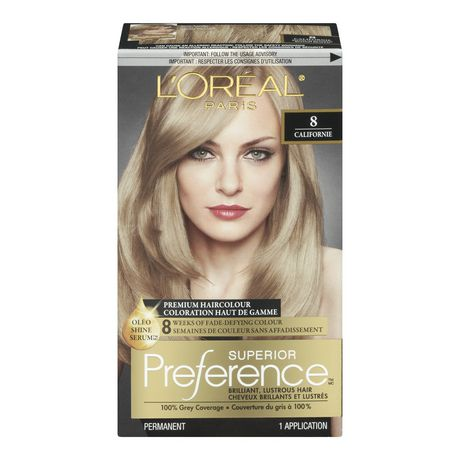 loral superior prfrence - Coloration Blond Beige