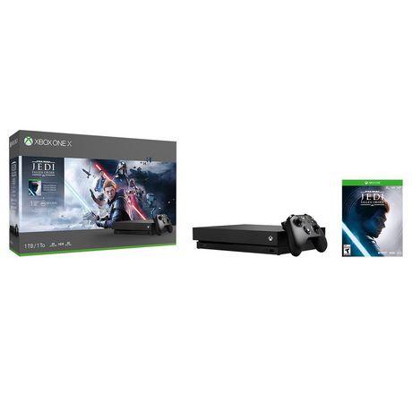 Xbox One X 1TB Console - Star Wars Jedi: Fallen Order™ Bundle - image 1 of 7