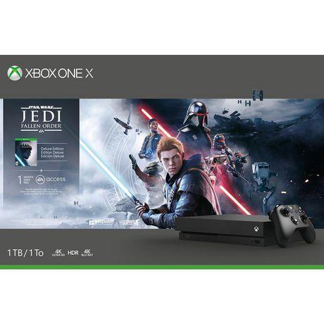 Xbox One X 1TB Console - Star Wars Jedi: Fallen Order™ Bundle - image 2 of 7
