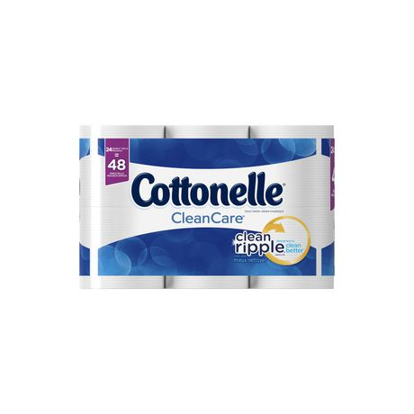 Cottonelle Clean Care Double Roll Toilet Paper - image 2 of 5