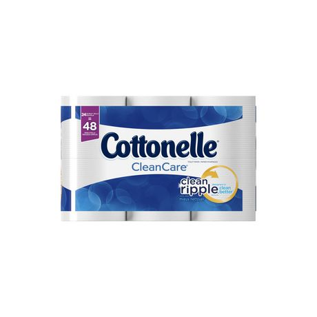Cottonelle Clean Care Double Roll Toilet Paper - image 4 of 5