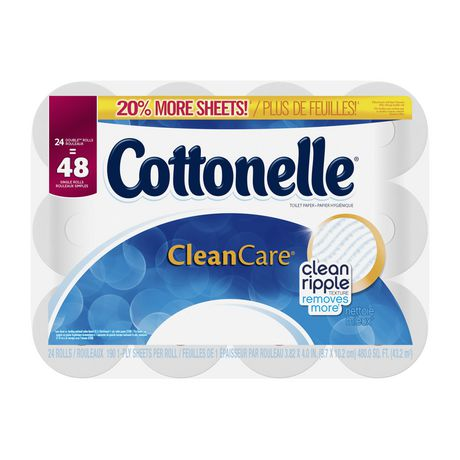 Cottonelle Clean Care Double Roll Toilet Paper - image 5 of 5