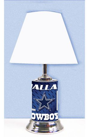 Logo chair nfl dallas cowboys table lamp walmart canada mozeypictures Gallery