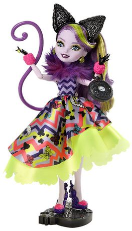 EVER AFTER HIGH DOLL ACCESSORIES WAY TOO WONDERLAND KITTY CHESHIRE EARS HEADBAND