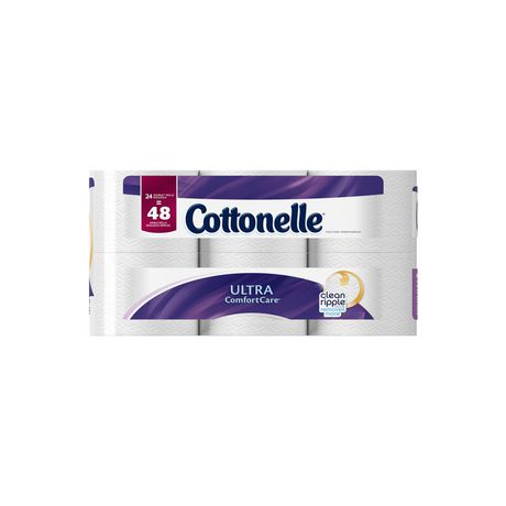 Cottonelle Ultra Comfort Care Double Roll Toilet Paper - image 2 of 5