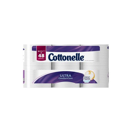 Cottonelle Ultra Comfort Care Double Roll Toilet Paper - image 4 of 5