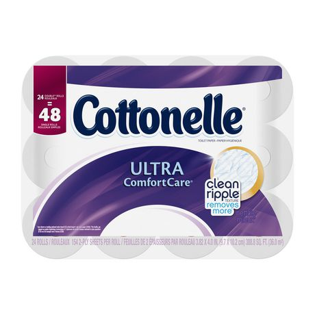 Cottonelle Ultra Comfort Care Double Roll Toilet Paper - image 5 of 5