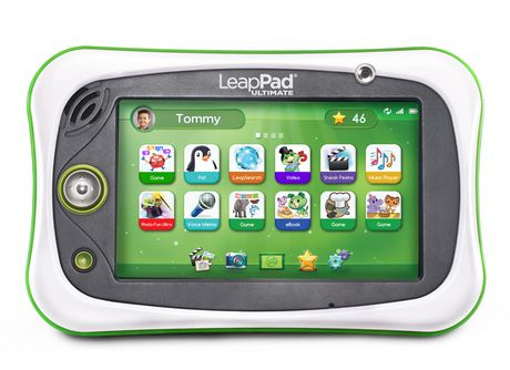 LeapFrog® LeapPad® Ultimate Ready for School Tablet™ - Green - English Version - image 1 of 9