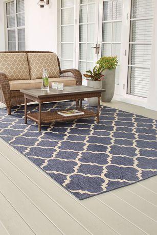 Carpet Art Deco Modello Indoor Outdoor Rug Walmart Canada