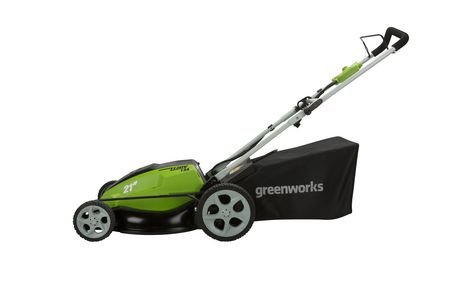 Greenworks 13a 21 Quot 3in1 Corded Lawnmower Walmart Canada