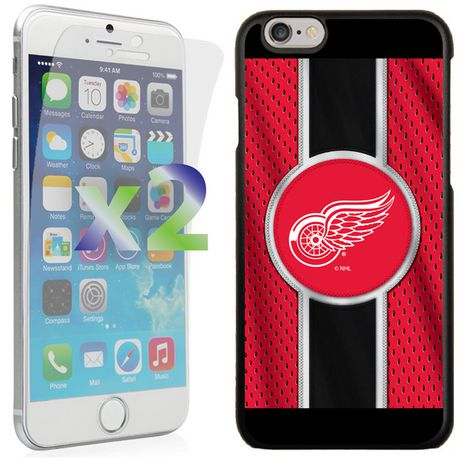 Exian Étui NHL pour iPhone 6 - Detroit Red Wings - image 1 de 1