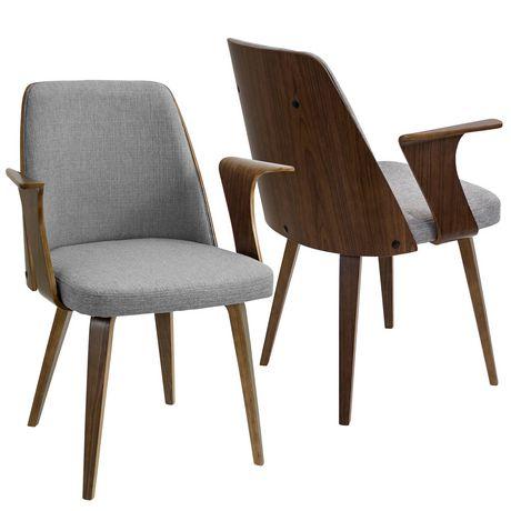 Verdana Mid Century Modern Dining Chair, Modern Mid Century Furniture Canada