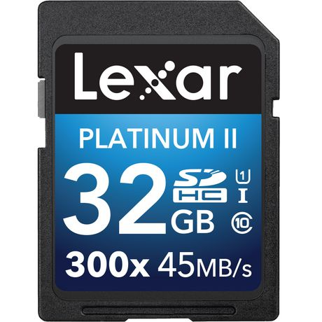 LEXAR MEDIA INC Lexar® Platinum II 300x SDHC™ 32GB - image 1 of 1