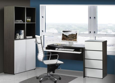 module de rangement ouvert allure de nexera. Black Bedroom Furniture Sets. Home Design Ideas