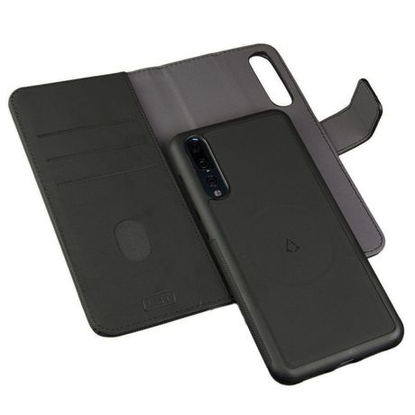 LBT Huawei P20 Switch Wallet Case With Magnet Vent Holder, Black - image 1 of 5