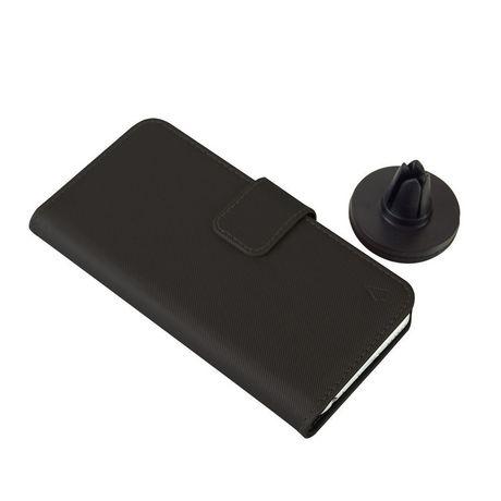 LBT Huawei P20 Switch Wallet Case With Magnet Vent Holder, Black - image 4 of 5