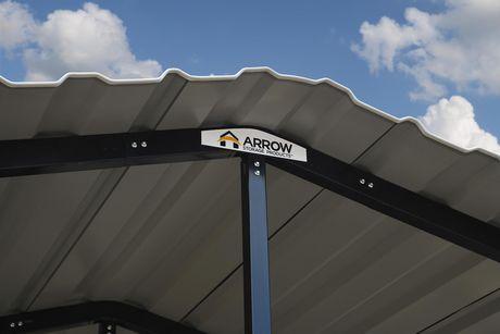 Arrow Carport 20 x 29 - Eggshell - image 5 of 9
