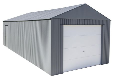 Everest Garage 12 x 30 ft. in Charcoal - image 1 of 9