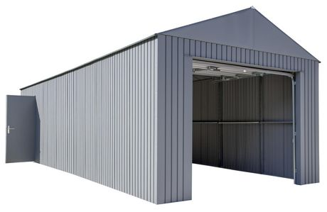 Everest Garage 12 x 30 ft. in Charcoal - image 6 of 9