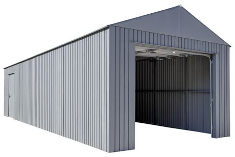 Everest Garage 12 x 30 ft. in Charcoal - image 7 of 9