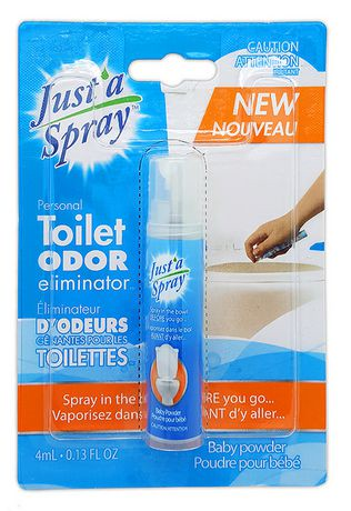 Justa Spray Personal Bathroom Odour Eliminator Walmart Canada - Bathroom odor spray