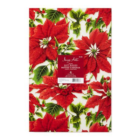 Hallmark Image Arts Assorted Christmas Designs Shirt Gift Boxes