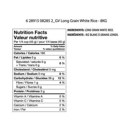 Riz blanc à grains longs de Great Value - image 2 de 2